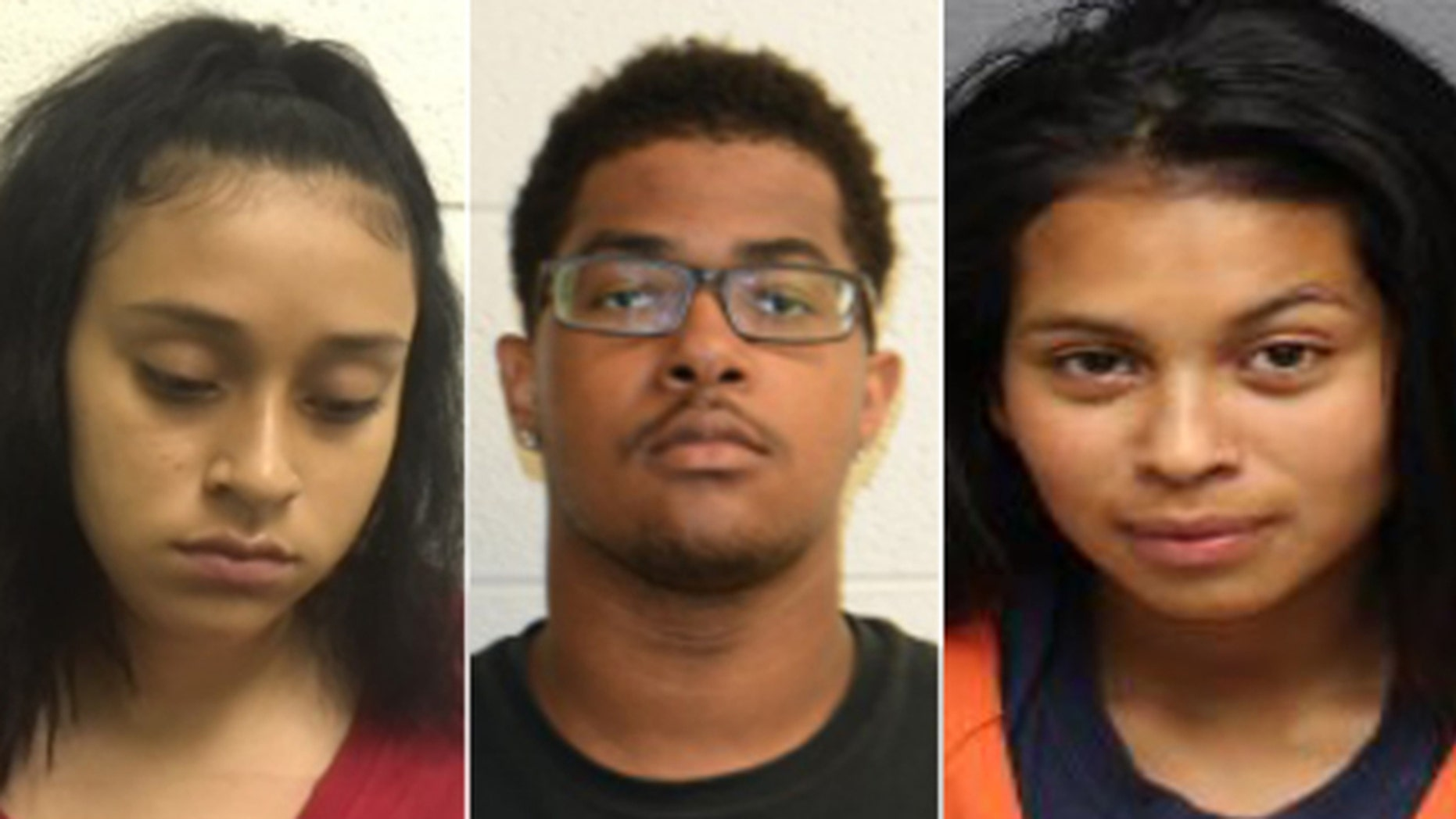 Left to right: Ebelin Jojana Lopez, 19; Terrance Tyrese Martin, 19; Seni Jimenez Blanco, 19; and two 17-year-old minors, were indicted on a lynching charge for the killing of a 24-year-old Virginia man.