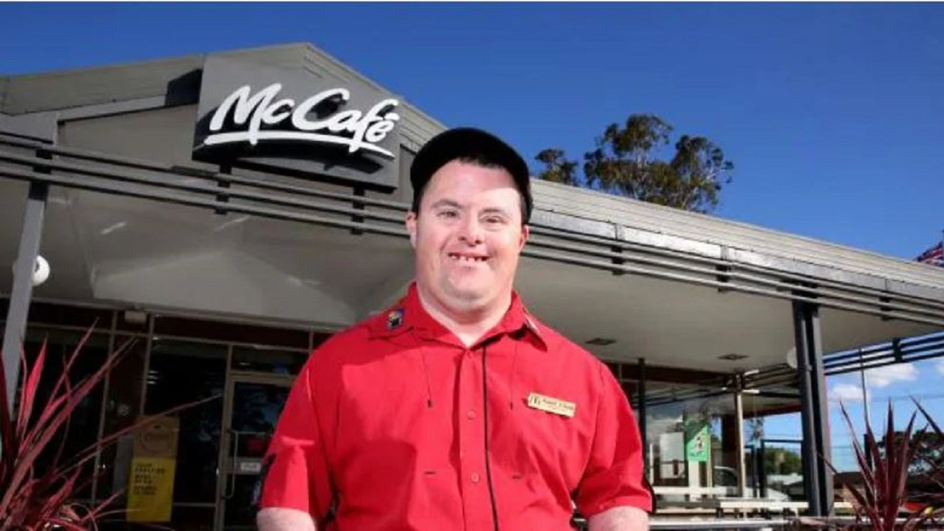 Russell O'Grady retired last week from working at a McDonald's in Northmead, Australia, about 30 minutes northwest of Sydney.