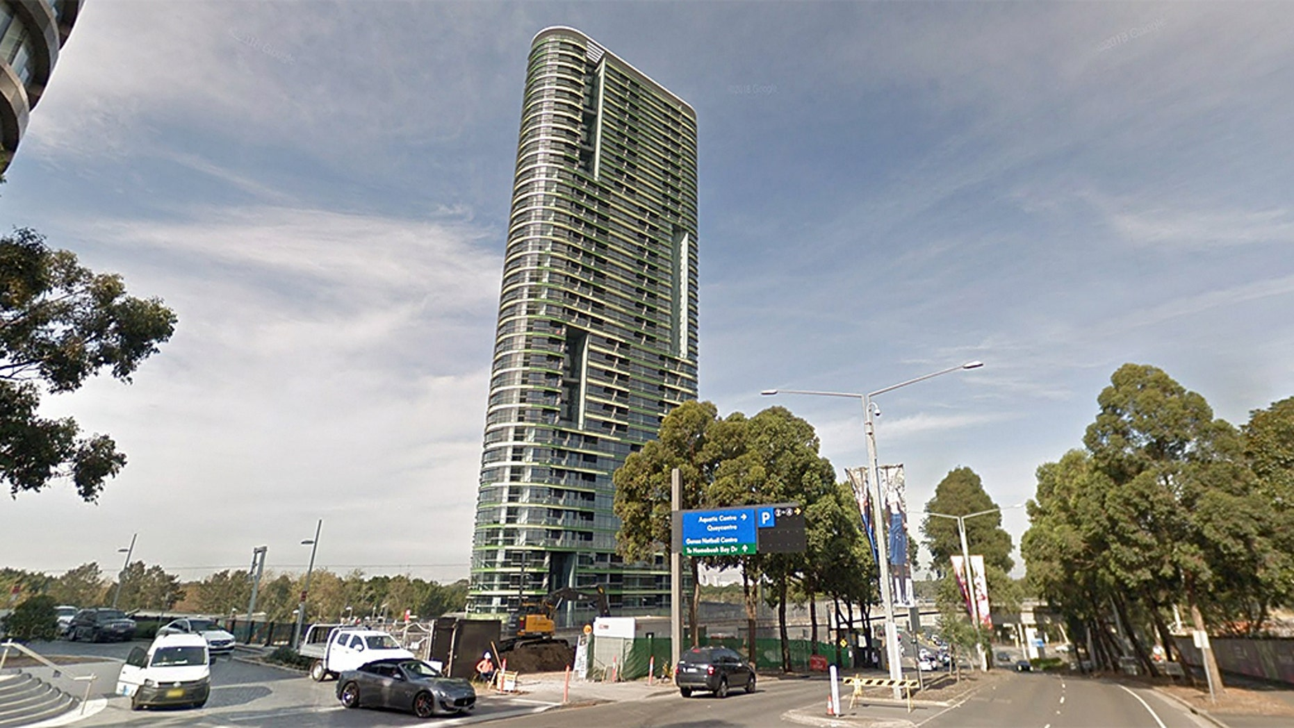 The Opal Tower in Sydney was evacuated on Monday after residents reported hearing cracking noises.