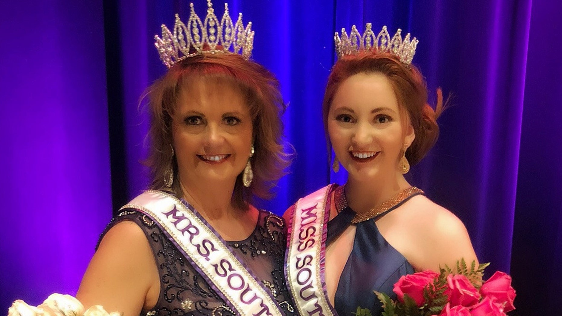 A mother and daughter both won titles at the same beauty pageant in South Dakota.