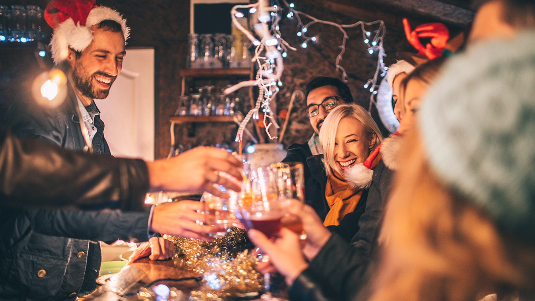 During the holiday season, Americans consume twice as much alcohol.