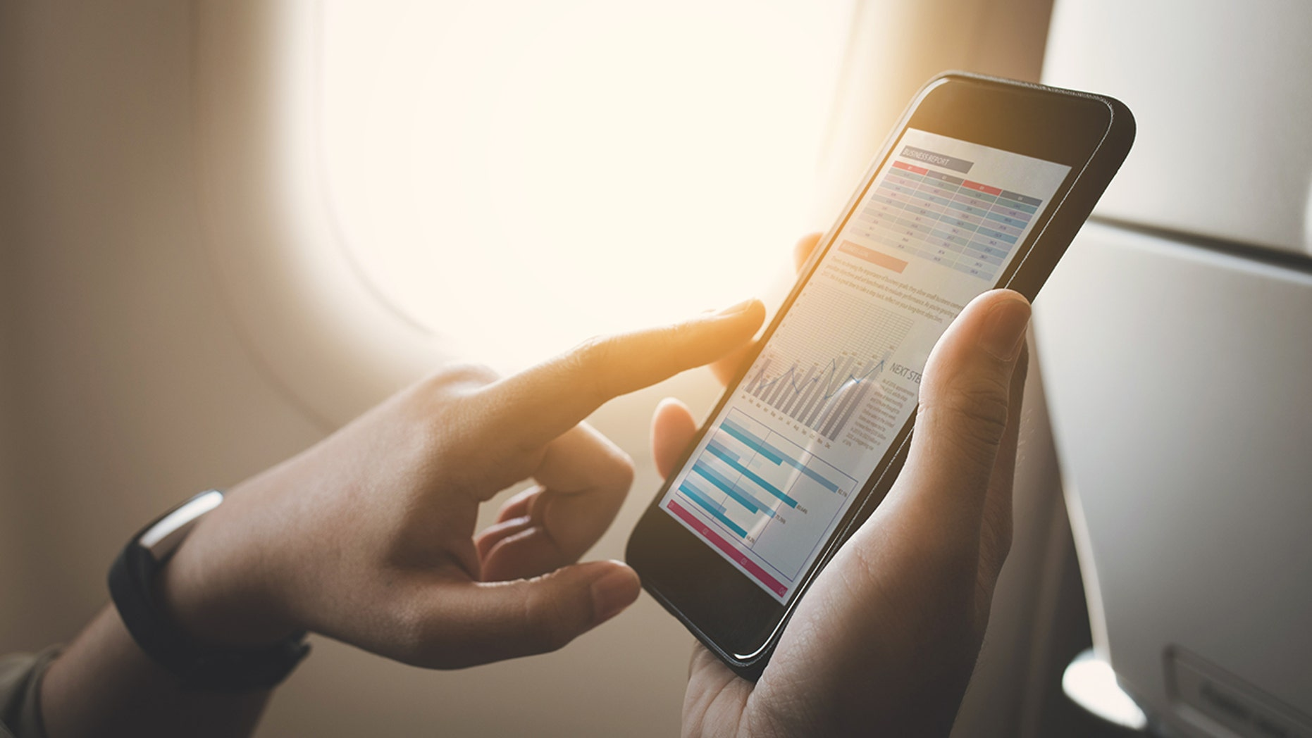 An airplane passenger was hit with a massive cell phone bill after forgetting to turn on airplane mode.