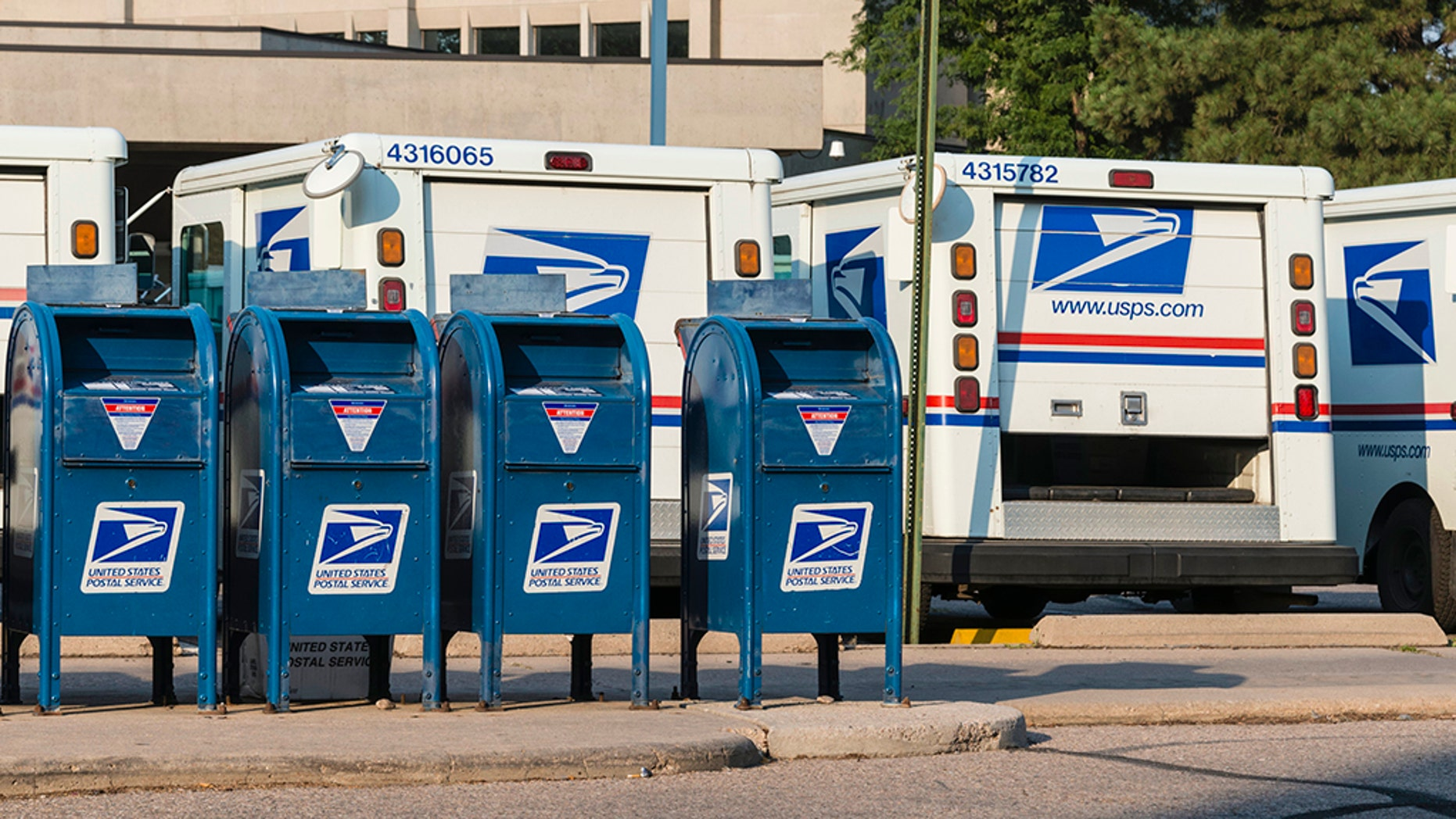 A man dressed as a U.S. Postal Service worker opened fire on two Chicago residents Thursday, police say.