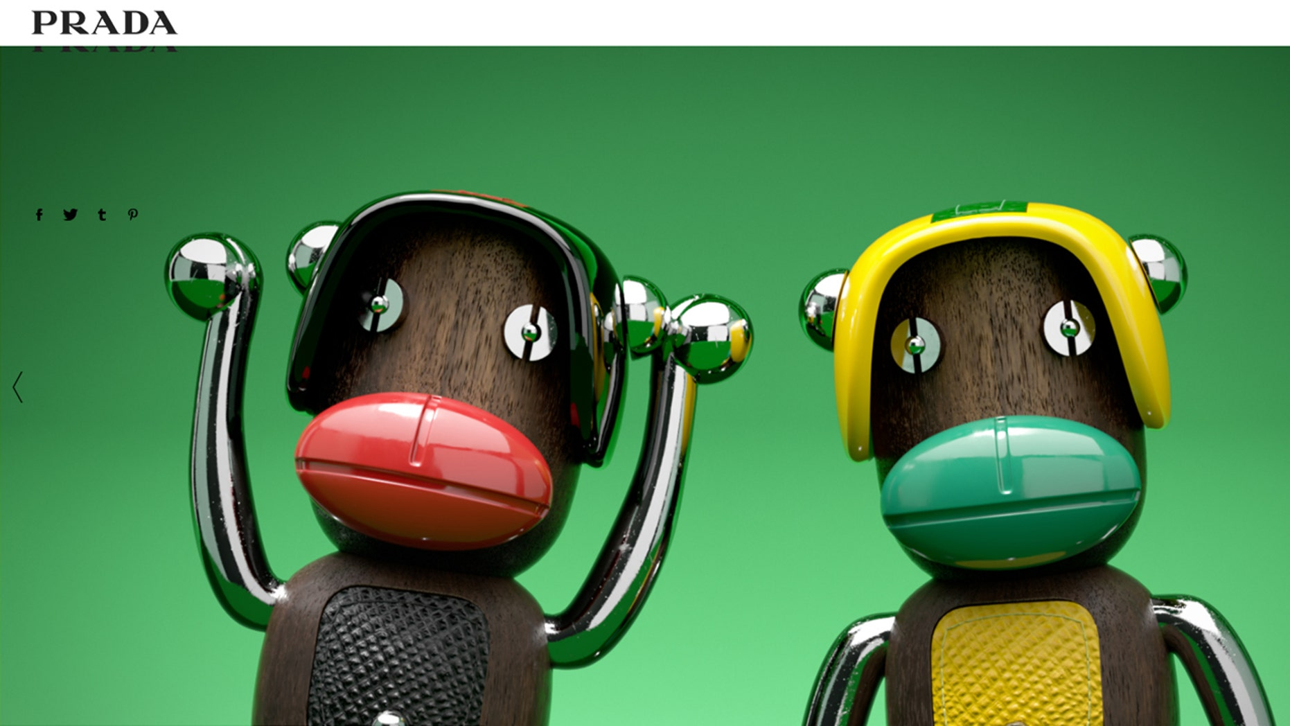 Prada made blackface monkey trinkets and didn't know they were racist