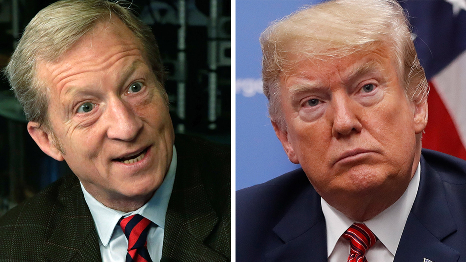 Liberalmega-donor Tom Steyer quickly moved Tuesday's conversation to impeachment, something he has supported via his organization Need to Impeach
