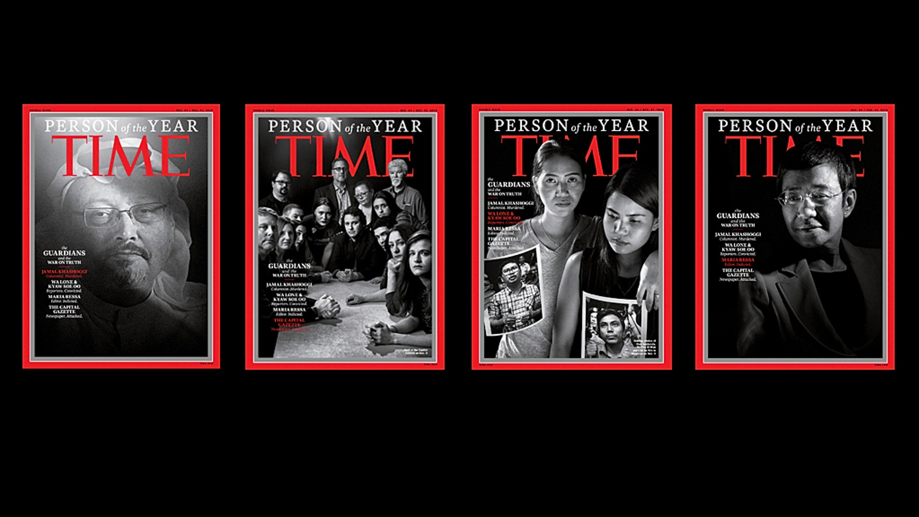 'Guardians and War on Truth' Named Time's 'Person of the Year'