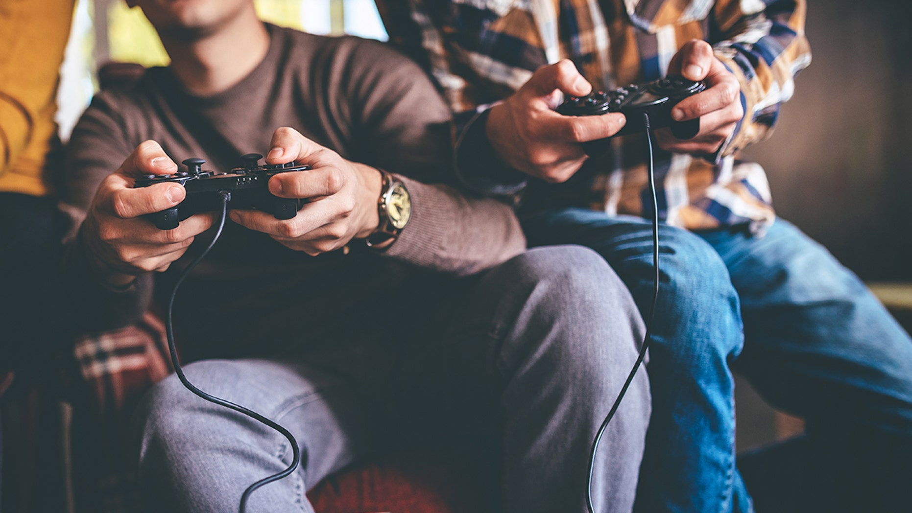Cops responded to a noise complaint and played video games with the people they checked in with.