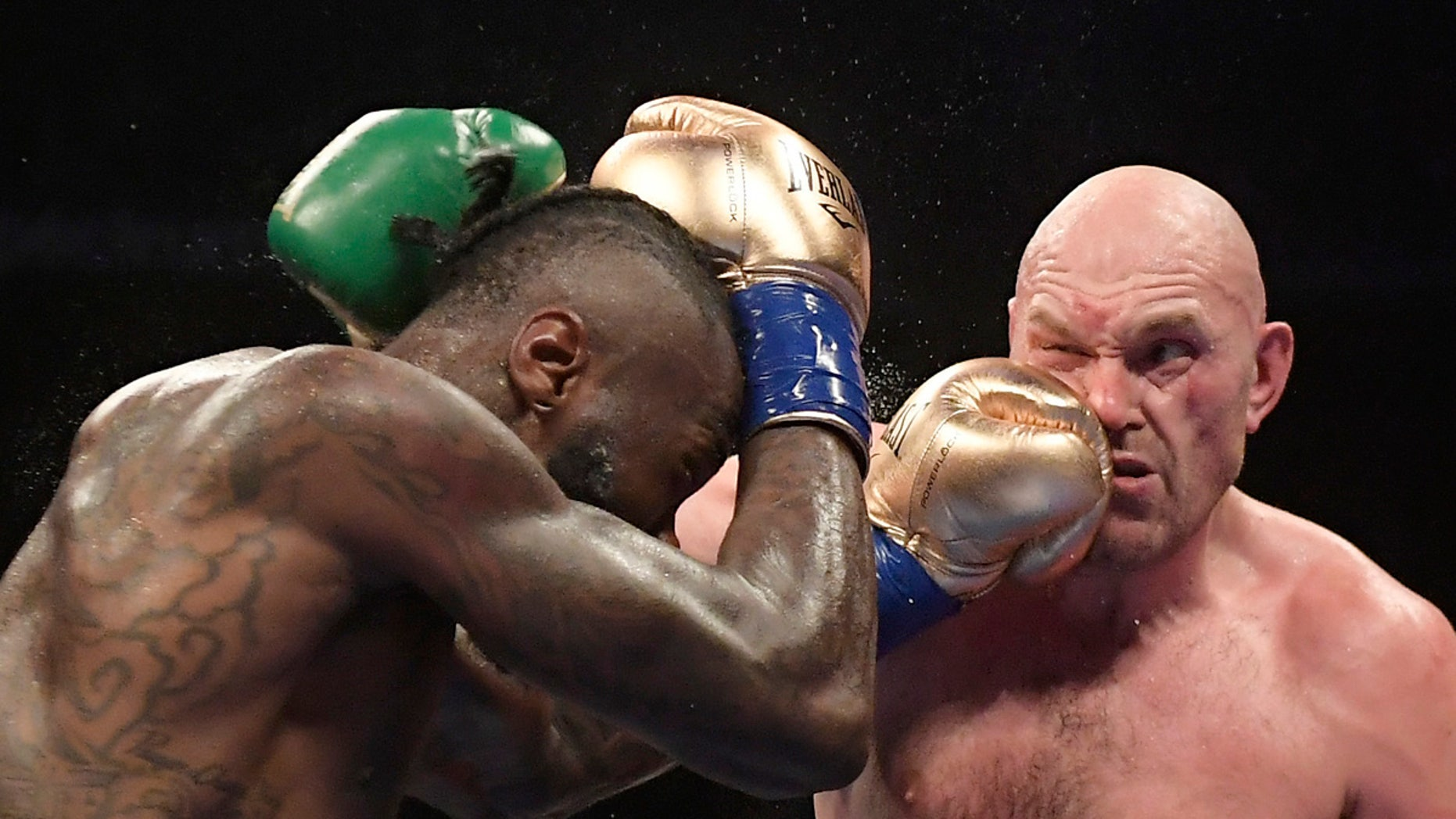 Deontay Wilder's Reaction To Tyson Fury Surviving His Knockdown Is Priceless