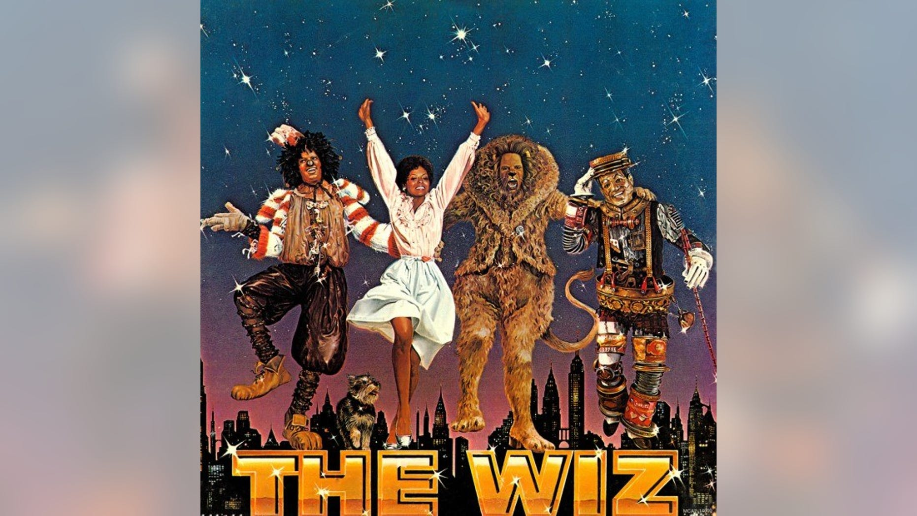 """""""The Wiz"""" first appeared on Broadway in 1975. A film version hit theaters in 1978."""