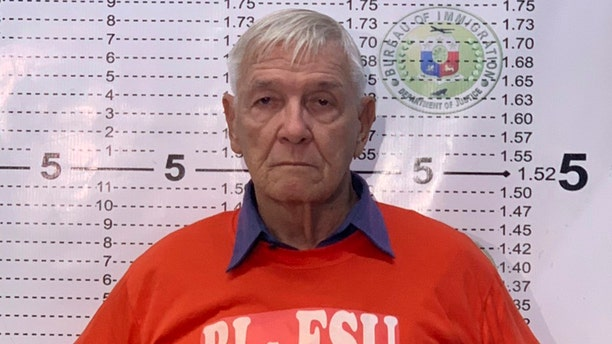 "American Roman Catholic priest Rev. Kenneth Bernard Hendricks was accused of sexually assaulting altar boys in a church in the Philippines, in a case one official described as ""shocking and appalling."" (Bureau of Immigration PIO via AP)"
