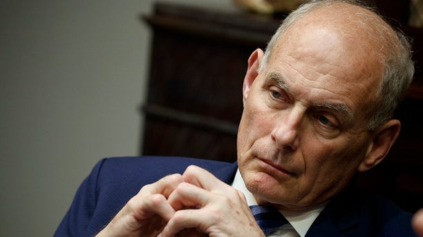 President Trump said Kelly will leave at the end of the year.