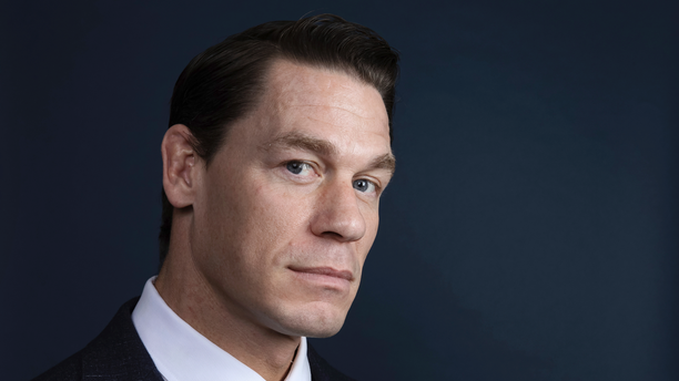 "This Dec. 9, 2018 photo shows WWE star-turned-actor John Cena posing for a portrait at the Four Seasons Hotel to promote his film ""Bumblebee"" in Los Angeles."
