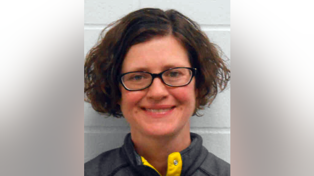 This photo provided by the Clarke County Jail in Osceola, Iowa, shows Clarke County Attorney Michelle Rivera. An Iowa judge cited the courthouse arrest Oct. 18, 2018, of Rivera, a prosecutor, for being drunk in an Osceola courtroom in dismissing charges against a man accused of sexually abusing a 13-year-old boy. Judge Marti Mertz issued the ruling Monday, Dec. 17, 2018, while chastising Rivera. (Clarke County Jail via AP)