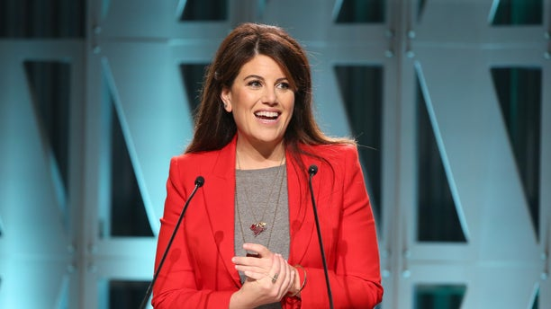 Monica Lewinsky speaks onstage during The Hollywood Reporter's Power 100 Women In Entertainment at Milk Studios on Dec. 5, 2018 in Los Angeles, Calif.
