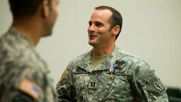 Former Army Special Forces Maj. Mathew Golsteyn