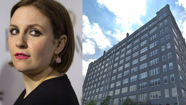 The actress, writer and producer has officially listed her airy three bedroom Williamsburg condo for a cool $3 million.