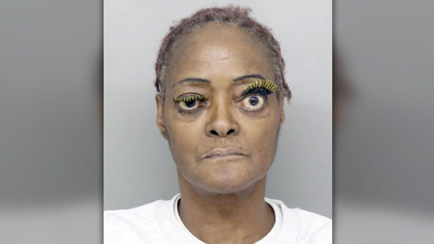 Charlene Thompson, 61, allegedly poured hot grease on a someone during an argument.