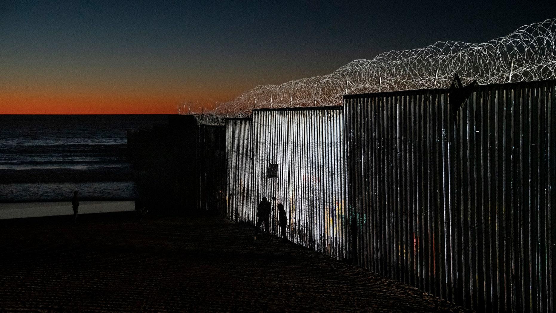 The border fence between San Diego, Calif., and Tijuana, Mexico, Wednesday, Jan. 2, 2019. (AP Photo/Daniel Ochoa de Olza)