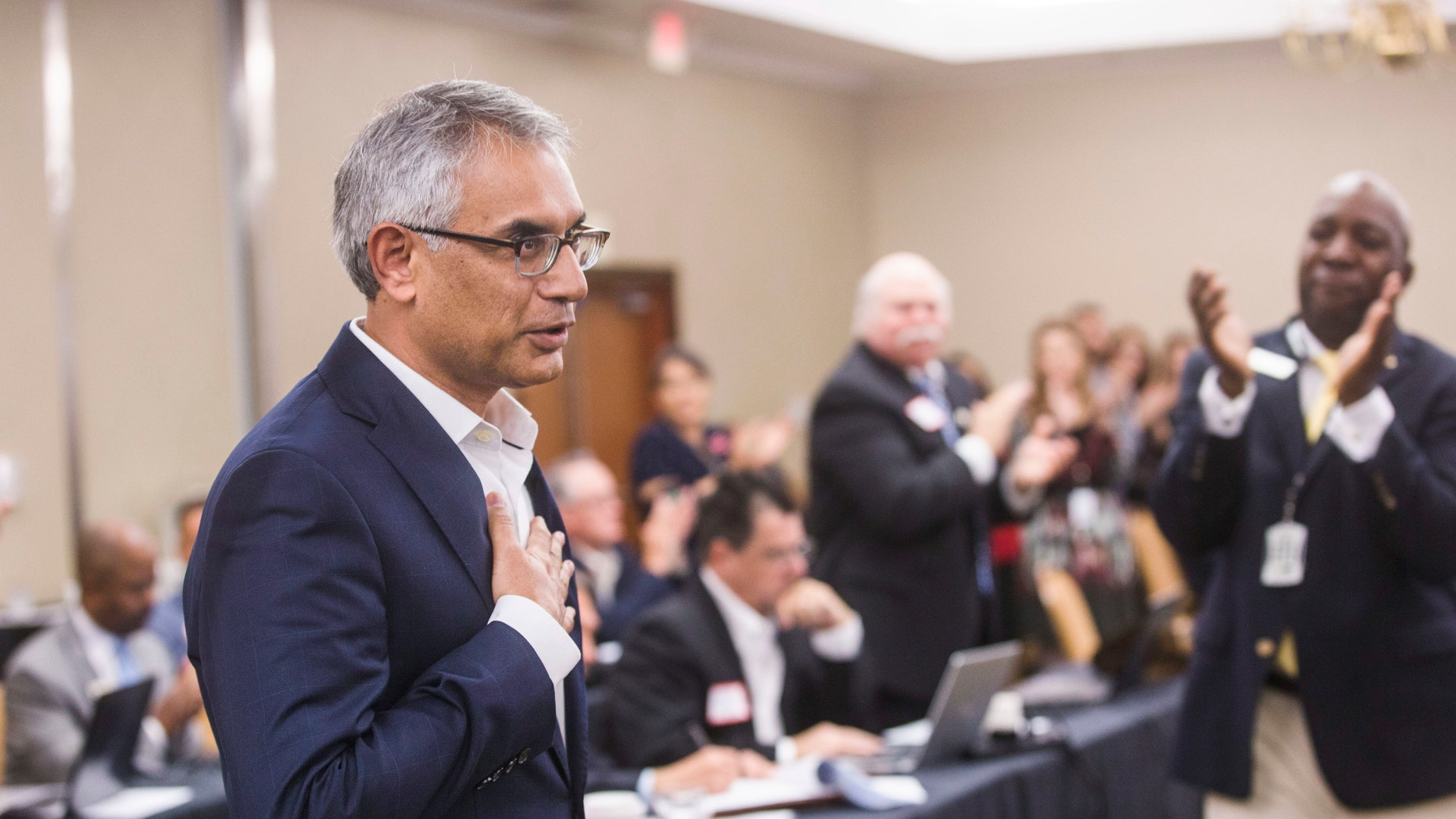 Dr. Shahid Shafi, a trauma surgeon, has worked with the Tarrant County GOP for about 10 years.
