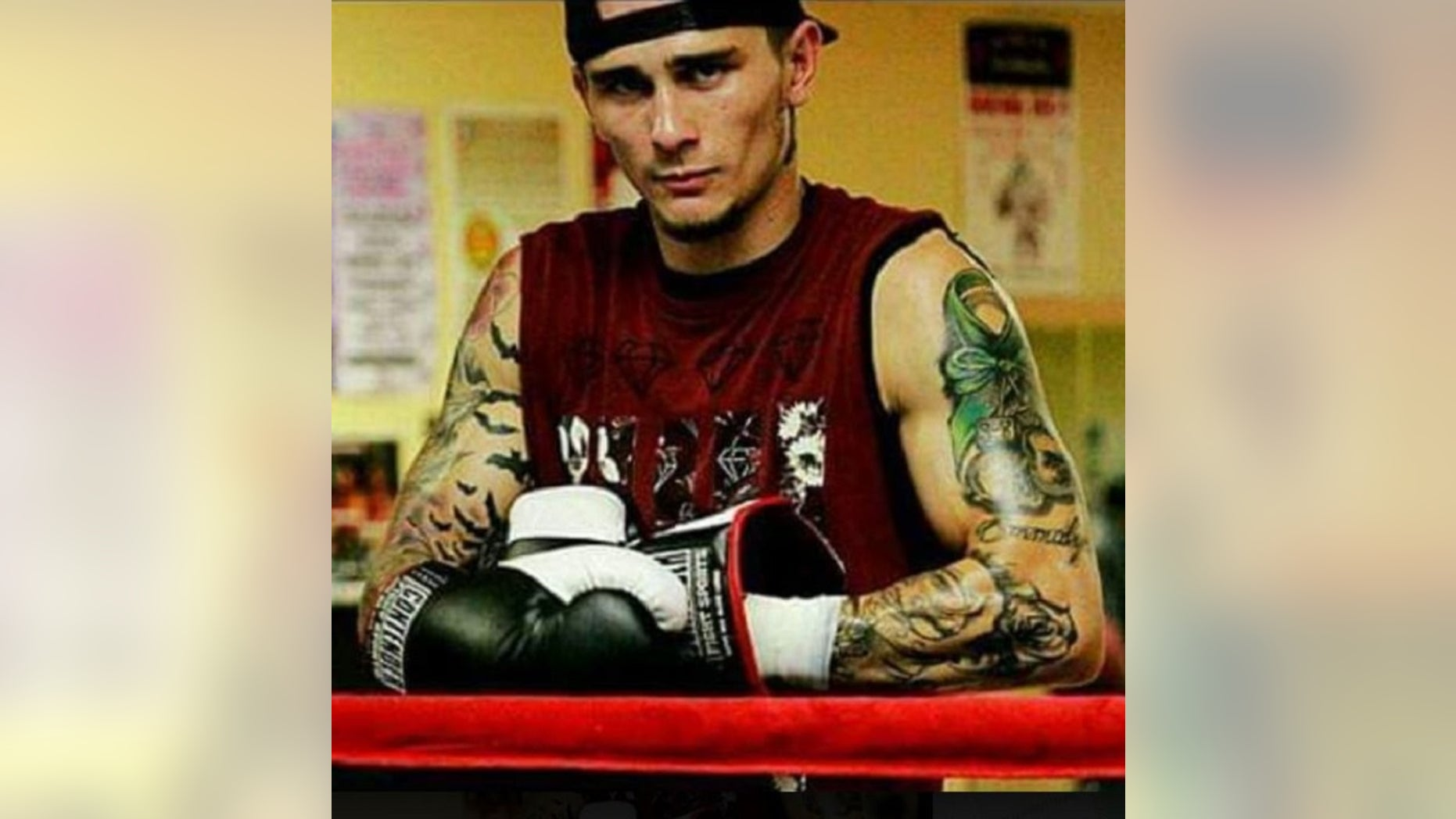 John VanMeter, died Wednesday, began boxing professionally in 2016 and had a 2-4 record, according to BoxRec. (Facebook)