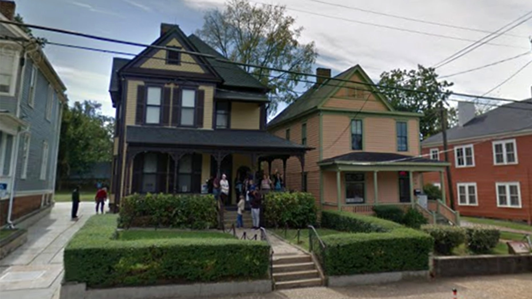 Martin Luther King Jr.'s birth home in Atlanta, Georgia, pictured here, and his longtime church will be closed on MLK Day should the government shutdown continue