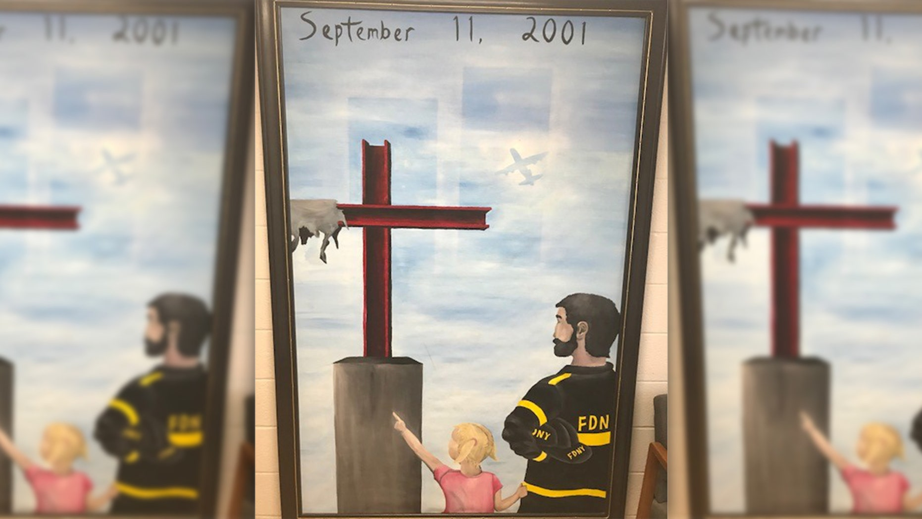 The Freedom From Religion Foundation filed a complaint against Camden County in Missouri for having a 9/11 cross mural, which the group claims is unconstitutional.