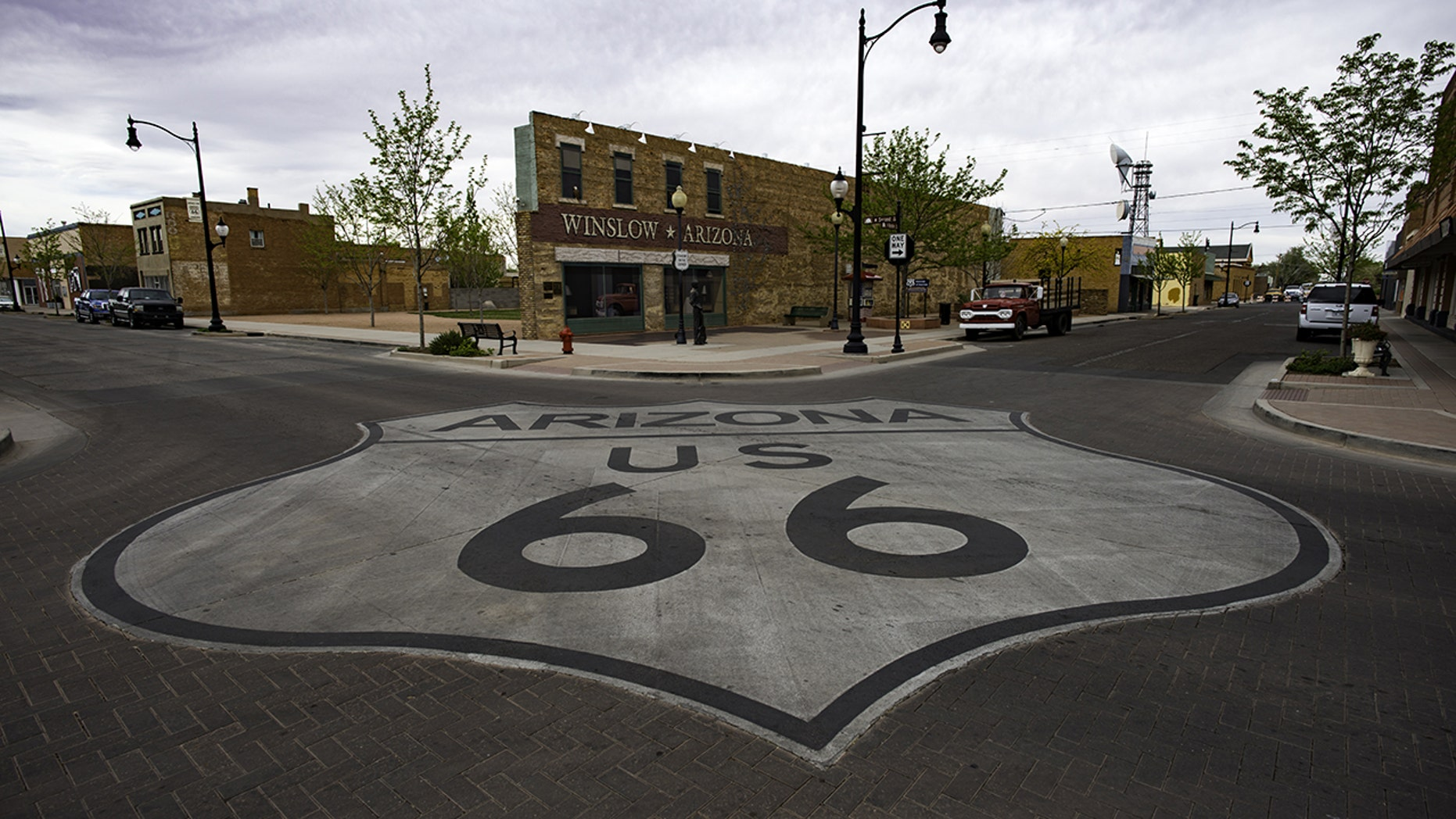"""Winslow, Ariz., was immortalized in the song """"Take it Easy"""" by The Eagles."""