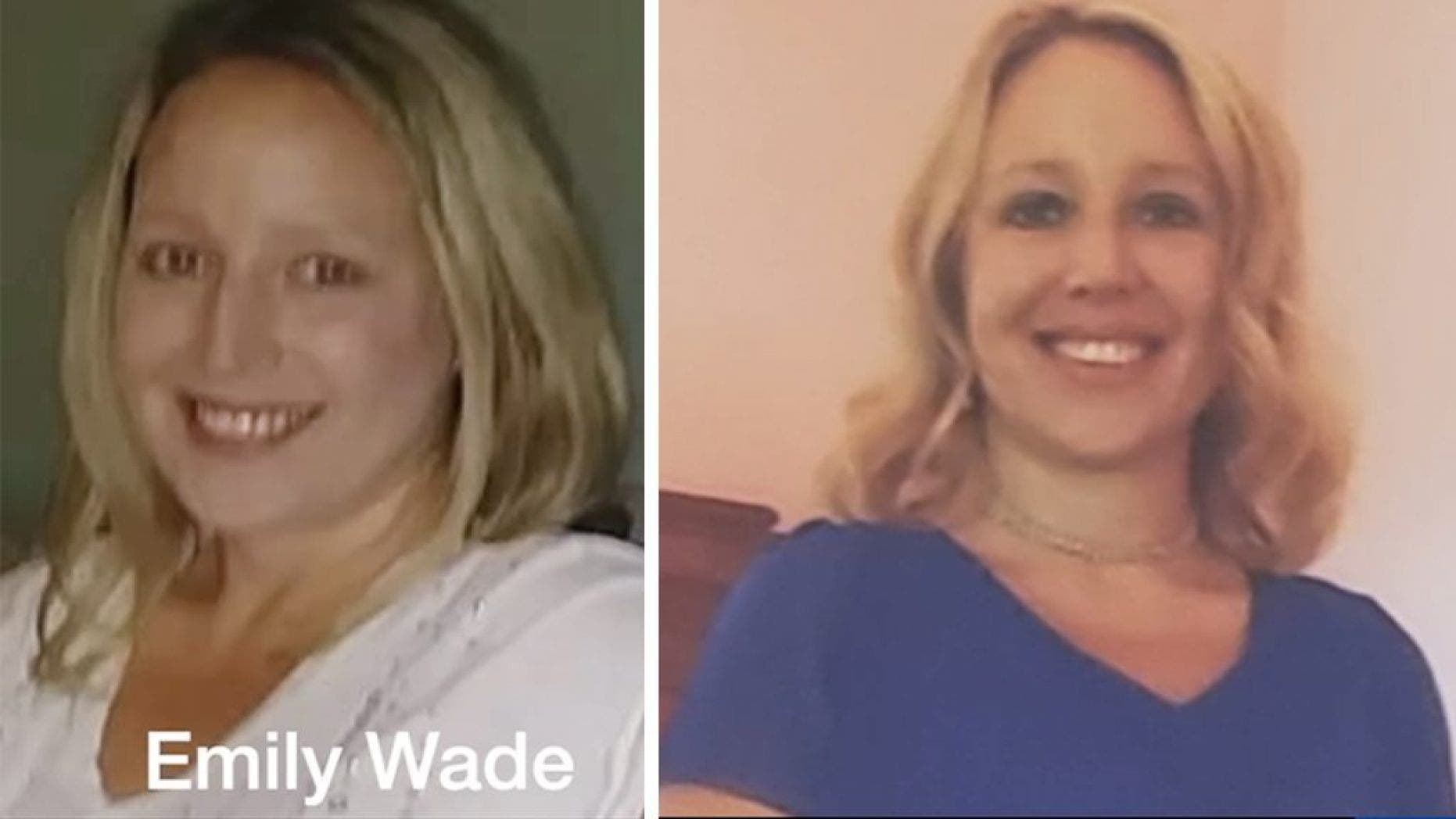 A body that matched the description of Emily Wade, a 38-year-old mother who was reported missing earlier this month, was found in a creek on Monday morning, police said.