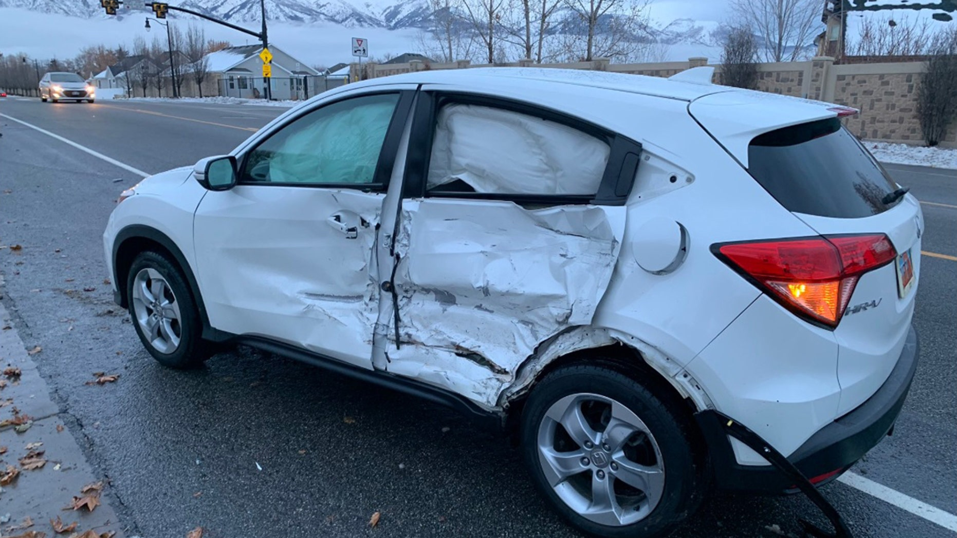 "Layton Police Department shared images of two badly damaged vehicles on Twitter explaining that the collision was the ""predictable result"" of the ""Bird Box"" challenge, in which people are called to do everyday tasks while blindfolded."