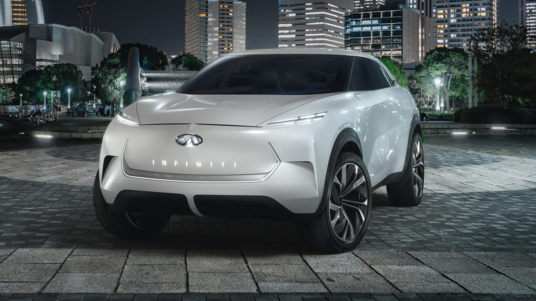 Infiniti QX Inspiration previews is upcoming Tesla-fighting electrical SUV