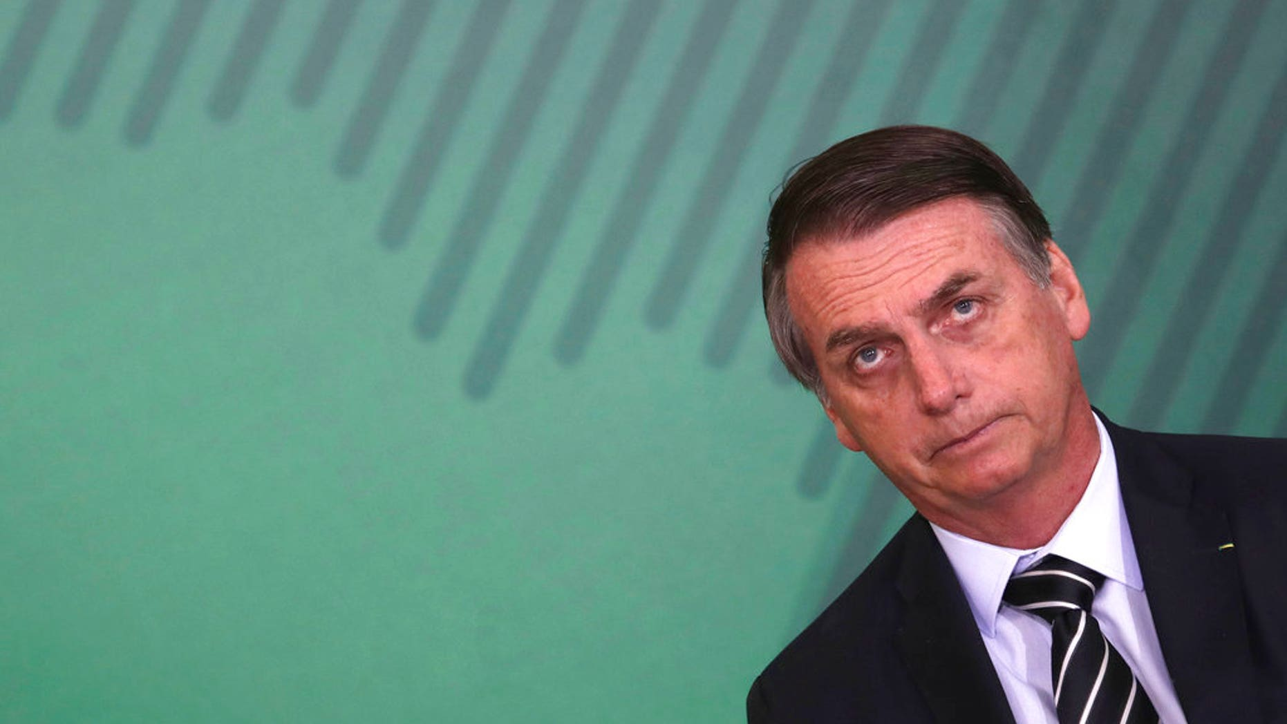 Brazil's President Jair Bolsonaro has made tackling crime in his country central to his policy.
