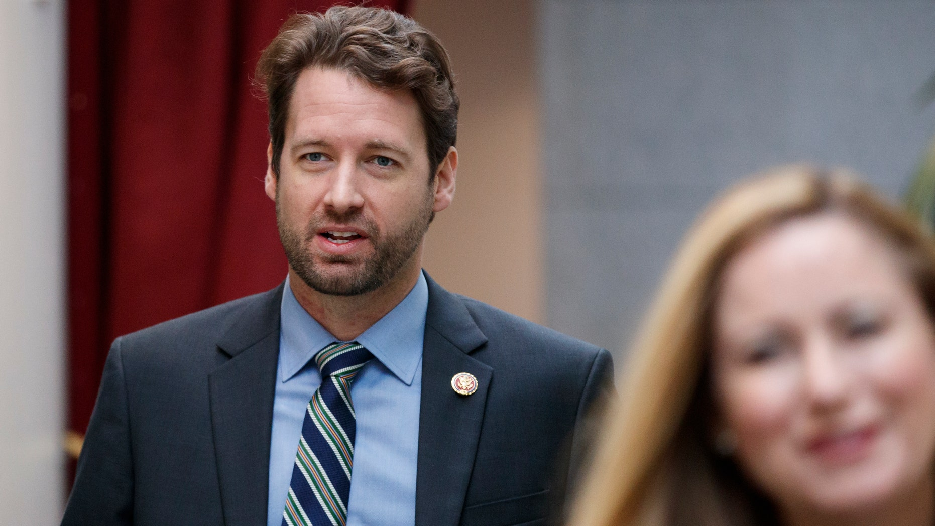 Rep. Joe Cunningham, D-S.C., was barred from walking onto the House floor as he tried to bring a six-pack of beer with him as a gift.