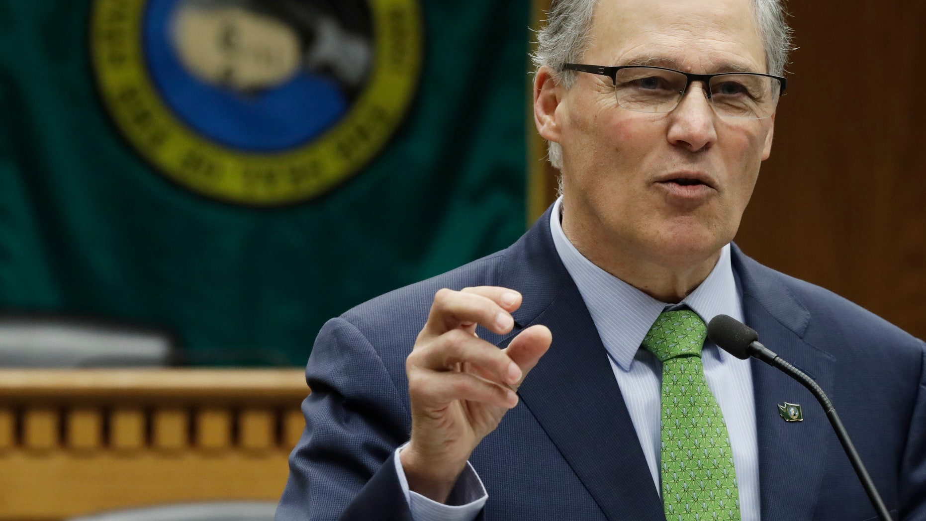 "Washington Gov. Jay Inslee on Friday introduced the ""Marijuana Justice Initiative,"" which is designed to allow a few thousand eligible individuals who have single misdemeanor possession convictions to apply for clemency."
