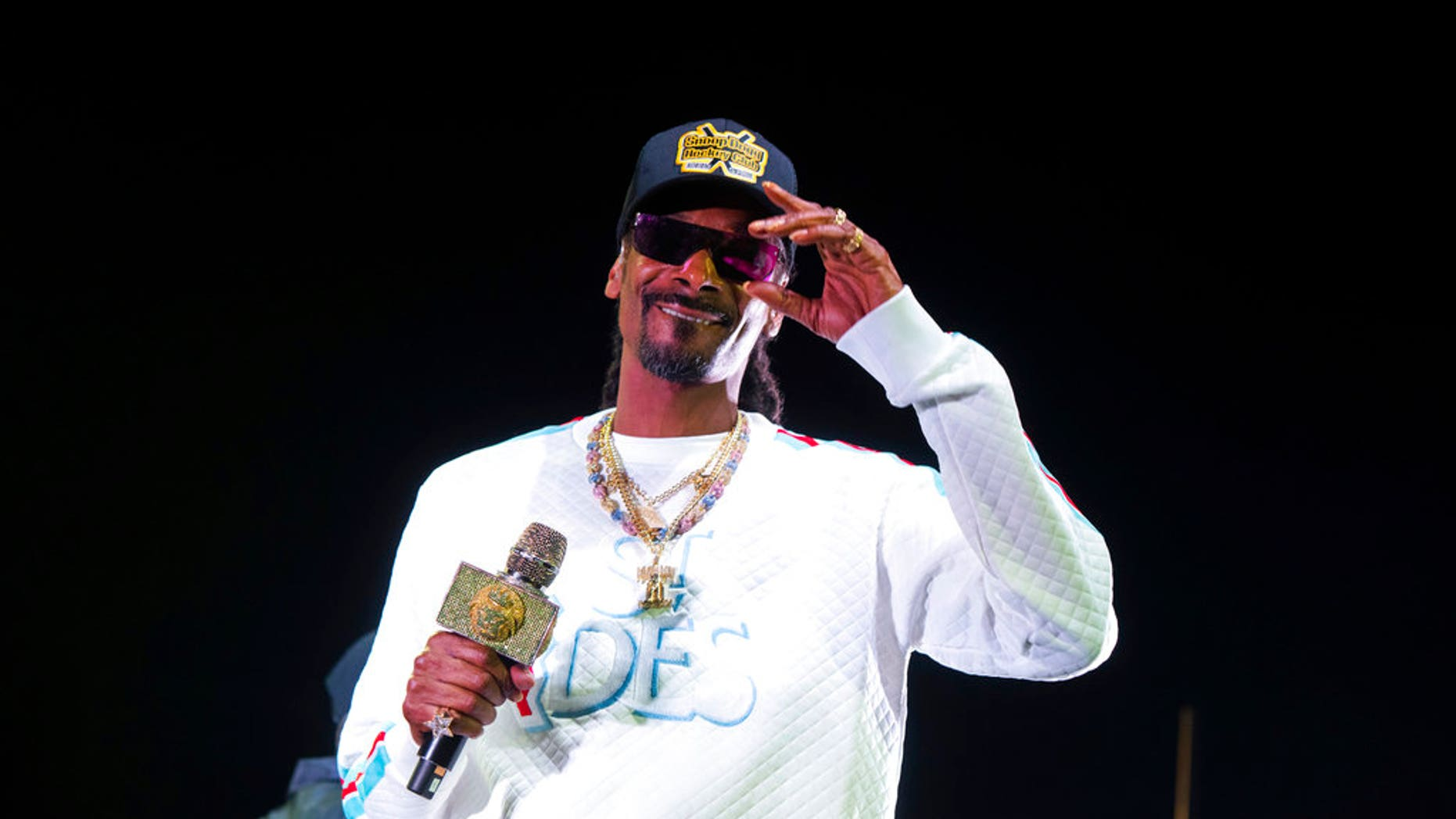Snoop Dogg performs onstage at State Farm Arena on Saturday, Jan. 5, 2019, in Atlanta. (Photo by Paul R. Giunta/Invision/AP)