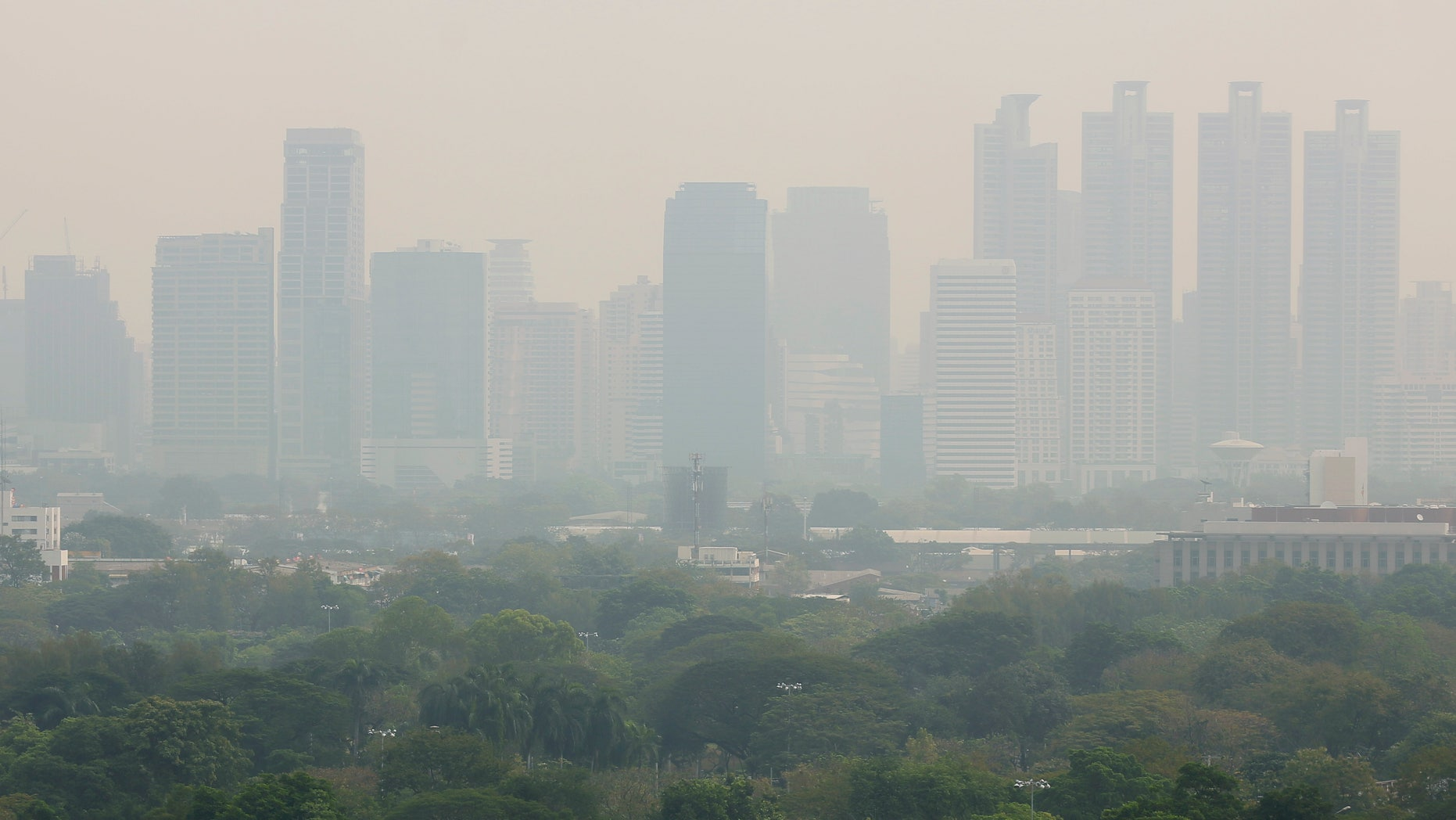 Toxic smog has forced Bangkok officials to close more than 400 schools this week to protect children from its effects