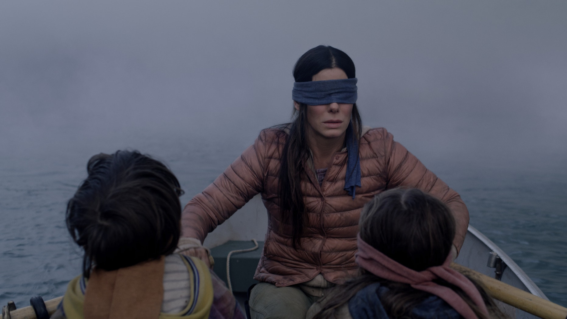 'Bird Box' is being criticized for using footage of a real-life tragedy to depict a fake one.
