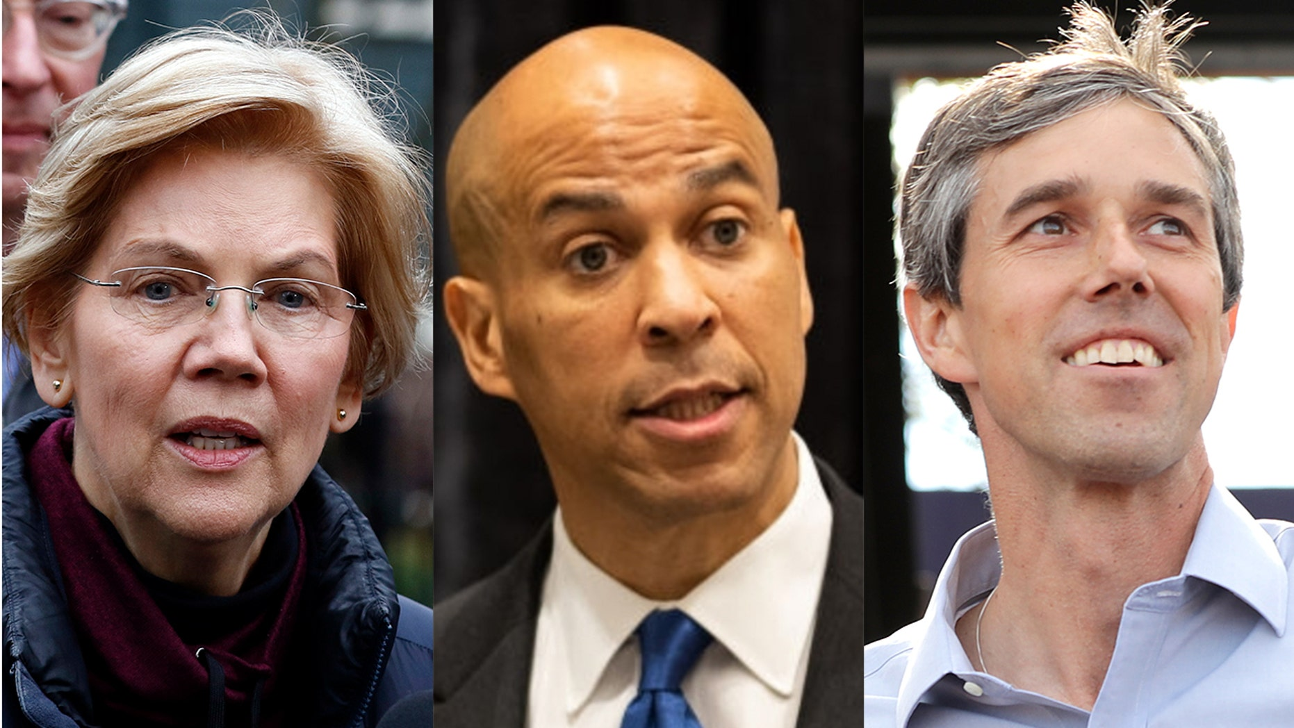 Sen. Elizabeth Warren, Sen. Cory Booker, and Beto O'Rourke have indicated support for the Green New Deal.