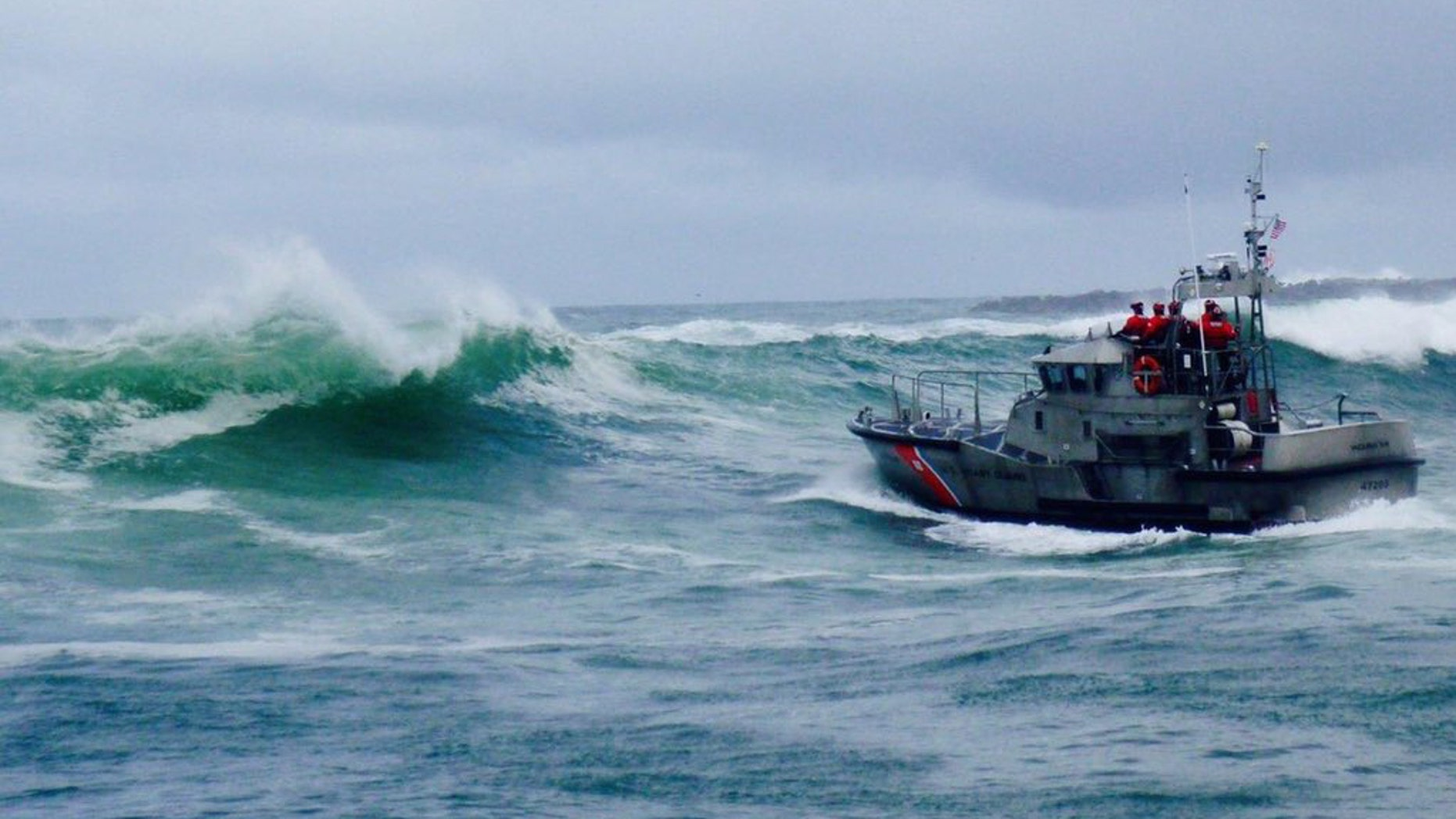 Three people aboard the Mary B II were pronounced dead after their vessel capsized off the coast of Newport, Oregon on Tuesday, officials said.