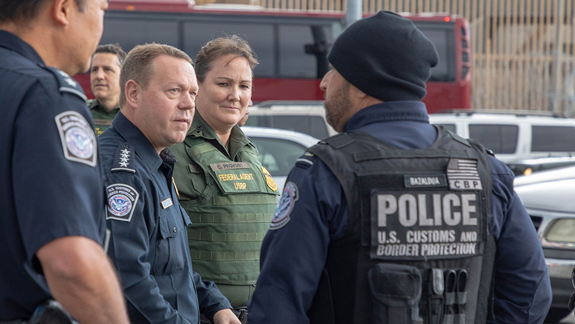U.S. border officials visit the San Ysidro Port of Entry. Photos by Mani Albrecht U.S. Customs and Border Protection Office of Public Affairs Visual Communications Division
