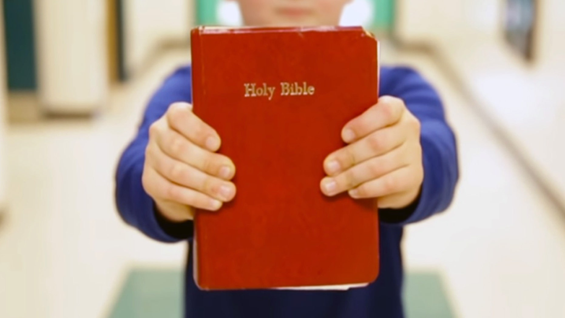 Bring Your Bible to School Day is a day for students to showcase their faith to their classmates, but parents in a California school district are suing after they feel their kids were unconstitutionally prohibited from handing out fliers promoting the event.