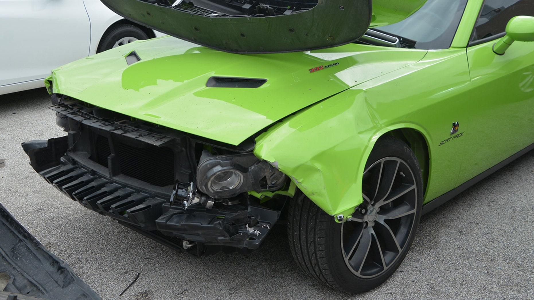 kids cause 800g damages at houston car dealership wreck ford mustang dodge challenger fox news. Black Bedroom Furniture Sets. Home Design Ideas