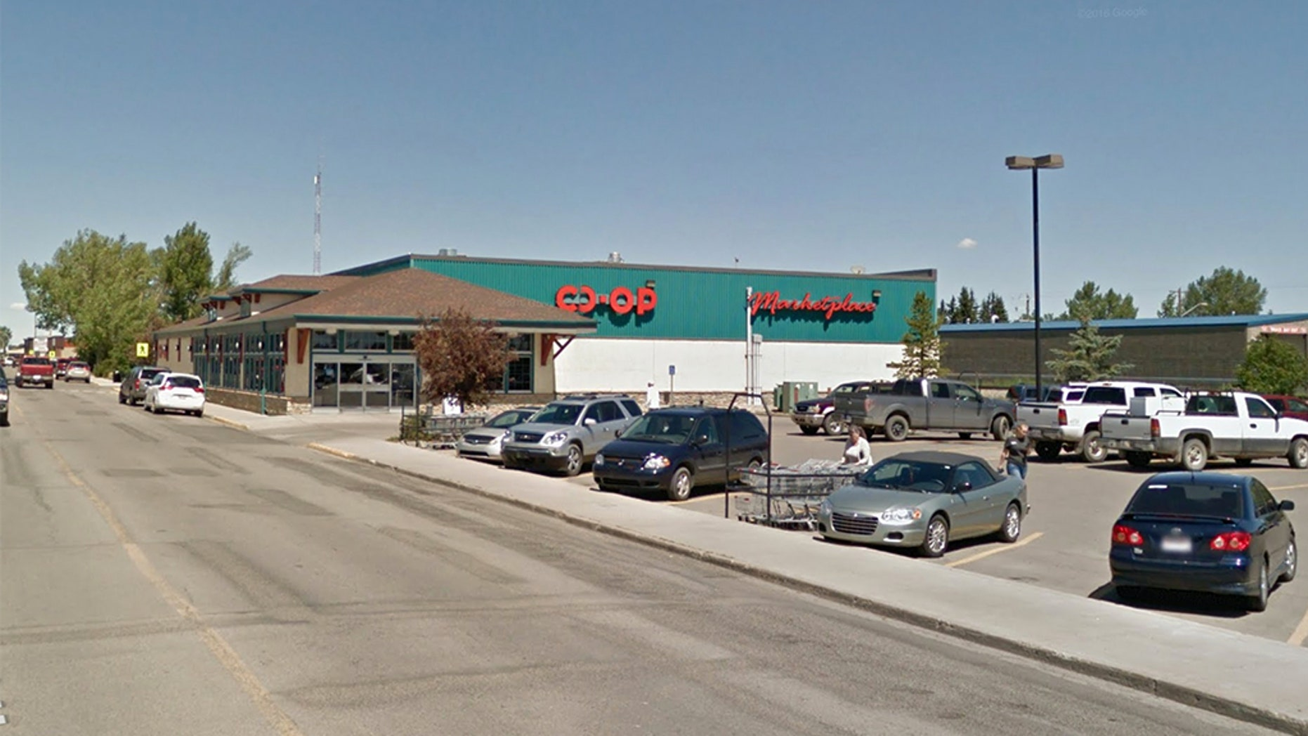 People have been complaining something's been zapping the power out of their key fobs, draining their car batteries and triggering their alarms in a parking lot outside the Westview Co-op grocery store in Carstairs, a small town about 40 miles north of Calgary.
