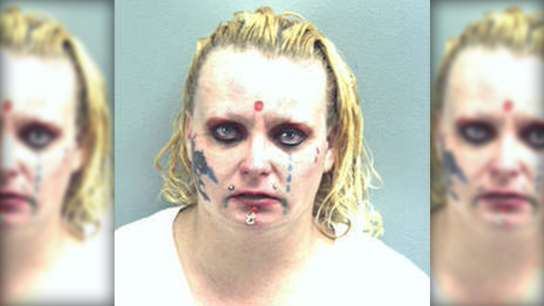 Crystal Mostek, 33, allegedly threatened to blow up a 7-Eleven in April 2018.
