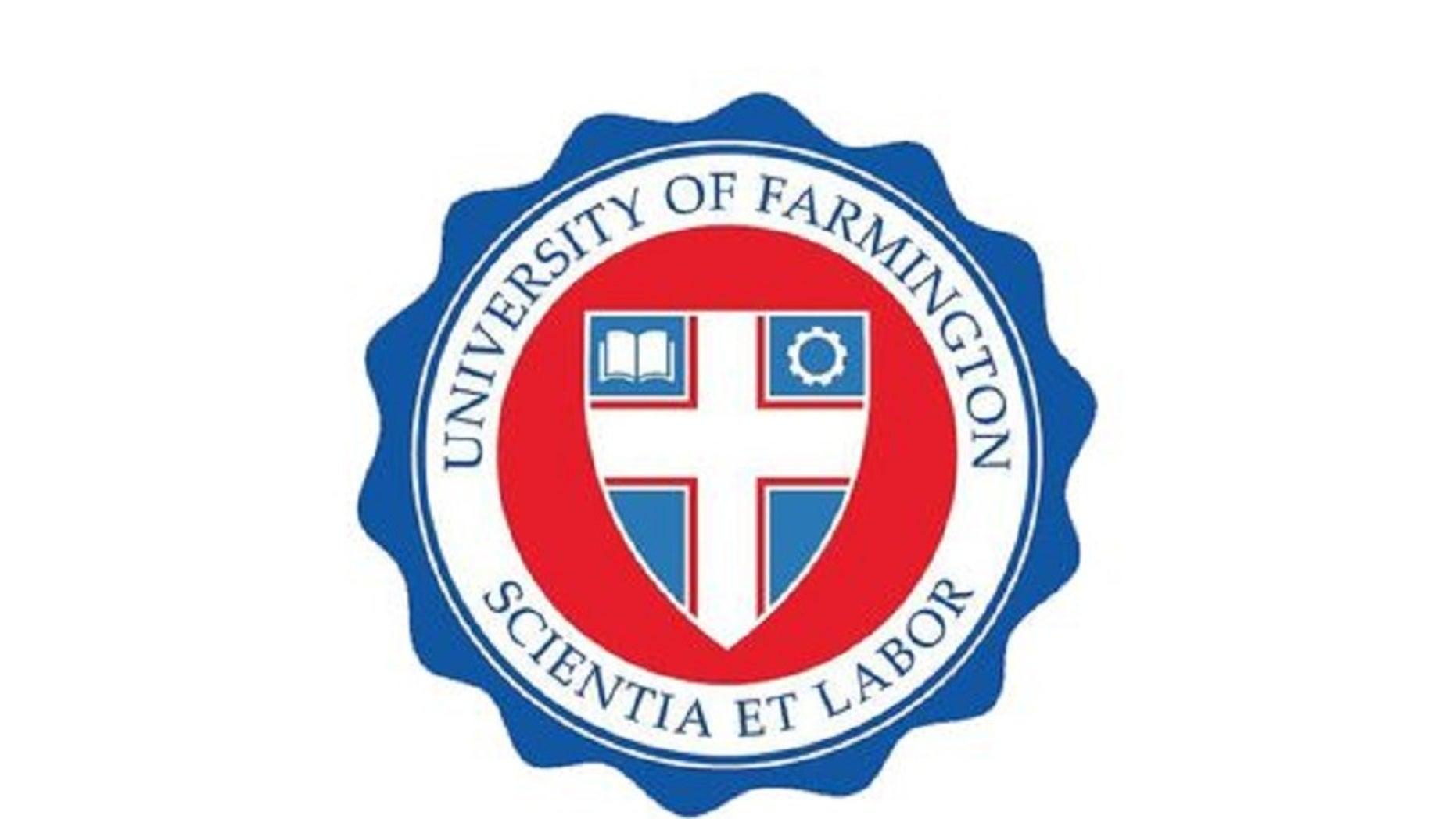 Farmington University logo Farmington Hills, Michigan.