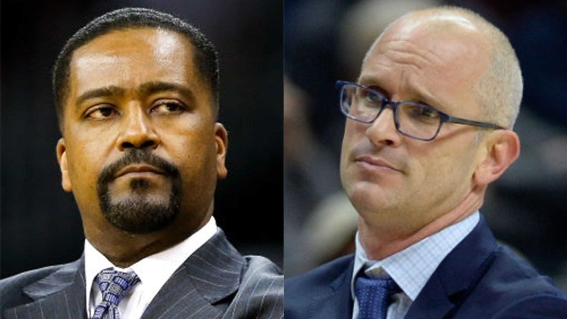 Frank Heath and Dan Hurley were thrown out during the match Wednesday night.