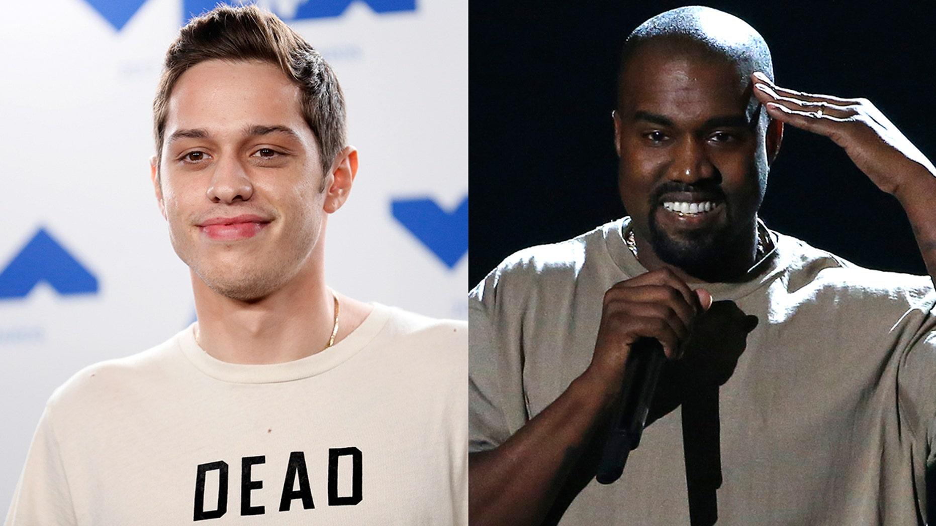 "Pete Davidson and Kanye West hung out together despite ""SNL"" dust-up."