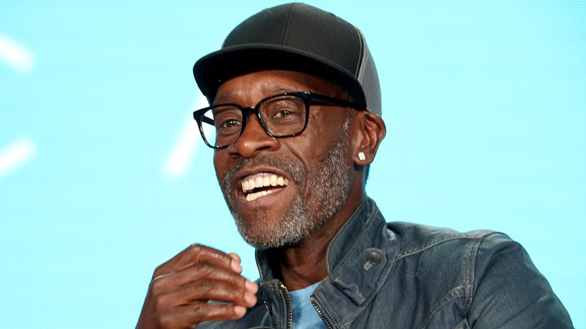 Don Cheadle was asked if he thinks our government is heading towards a plutocracy during the Showtime segment of the 2019 Winter Television Critics Association Press Tour at The Langham Huntington on January 31, 2019 in Pasadena, Calif.