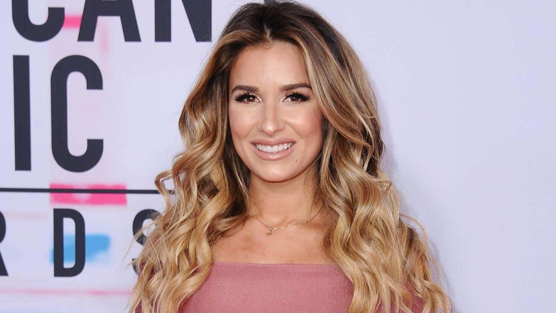 Jessie James Decker opens up about her post-pregnancy weight loss in an Instagram post on Tuesday.