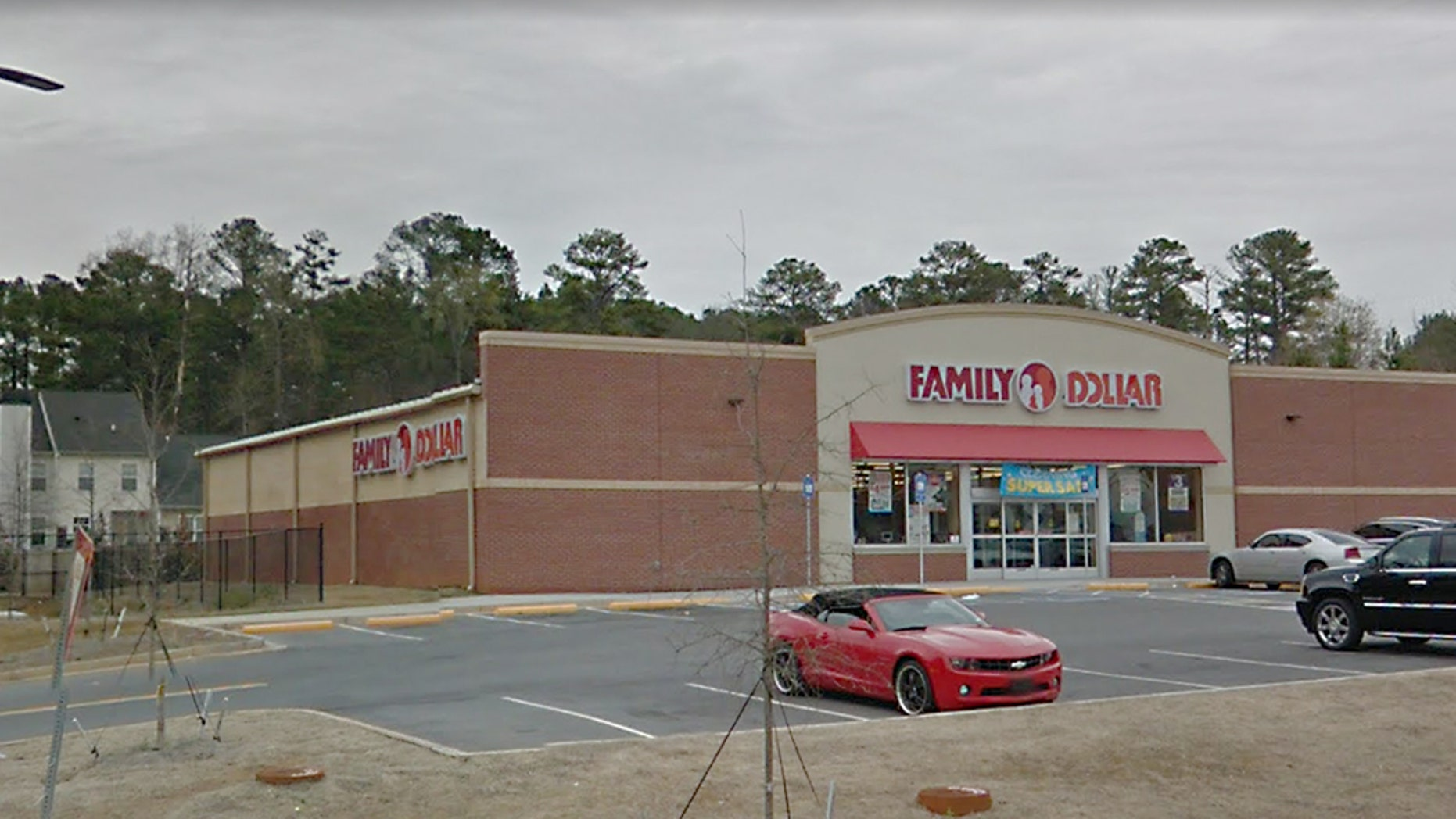 A Georgia man shot and killed a would-be robber in this Family Dollar store in Dekalb County on Tuesday morning, police said.