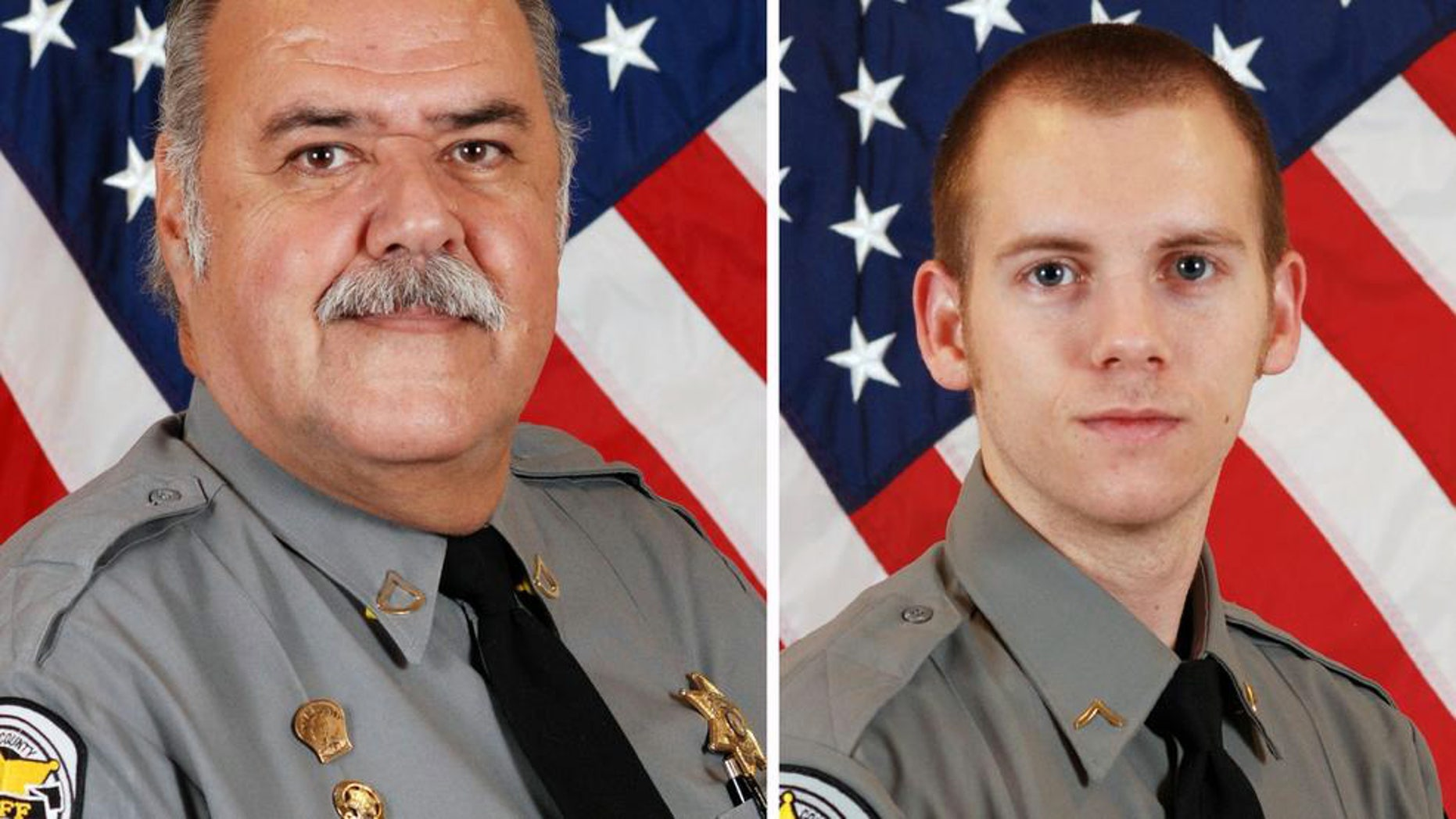 Former Horry County Sheriff's Deputies Stephen Flood and Joshua Bishop